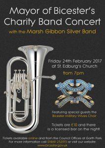 Mayor's Charity Band Concert 2017 @ St. Edburg's Church